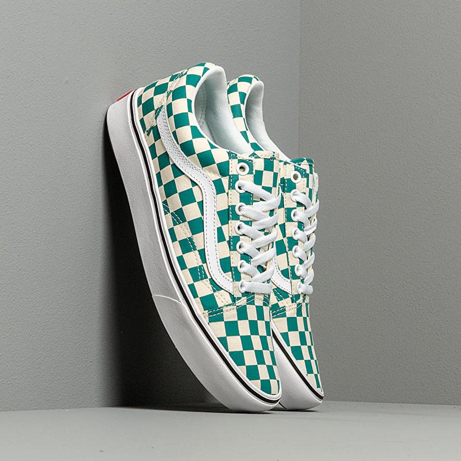 Vans ComfyCush Old Skool (Checker) Quetzal/ True White EUR 38.5