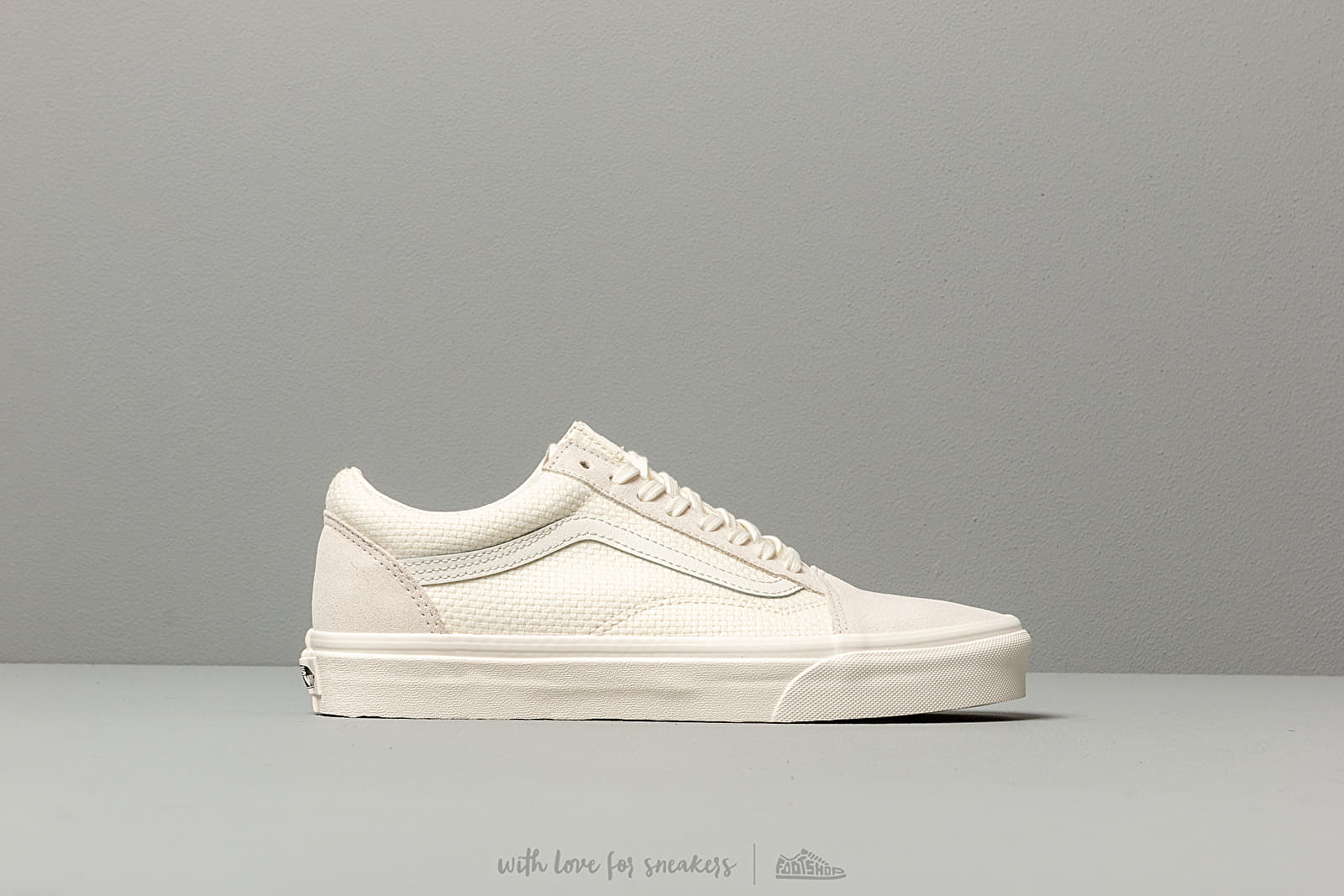 VANS OLD SKOOL WOVEN CHECK SPANISH PINK Taille 39 Couleur
