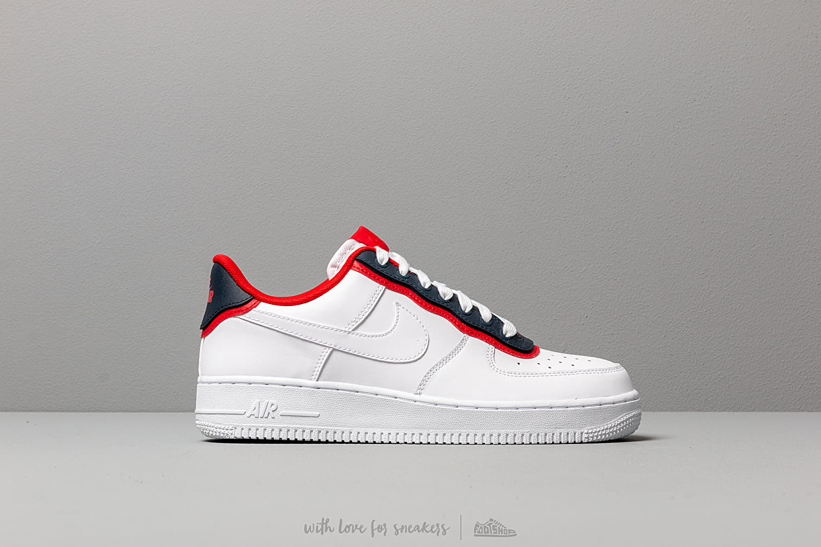 vast selection undefeated x many styles Nike Air Force 1 '07 Lv8 1 White/ White-Obsidian-University ...