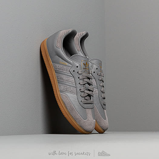 adidas Samba OG Ft Grey Three/ Grey Three/ Gold Metalic | Footshop