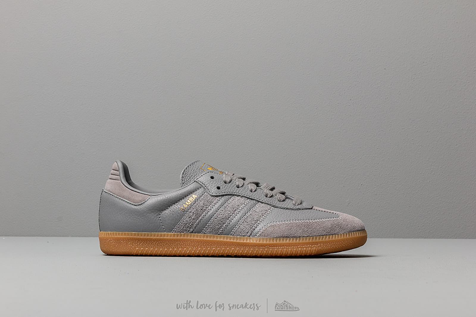 adidas samba og grey