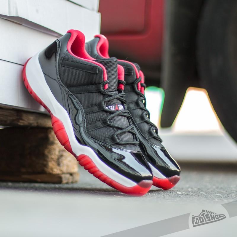 fd695e9d29658a Air Jordan 11 Retro Low (BG) Black  True Red-White