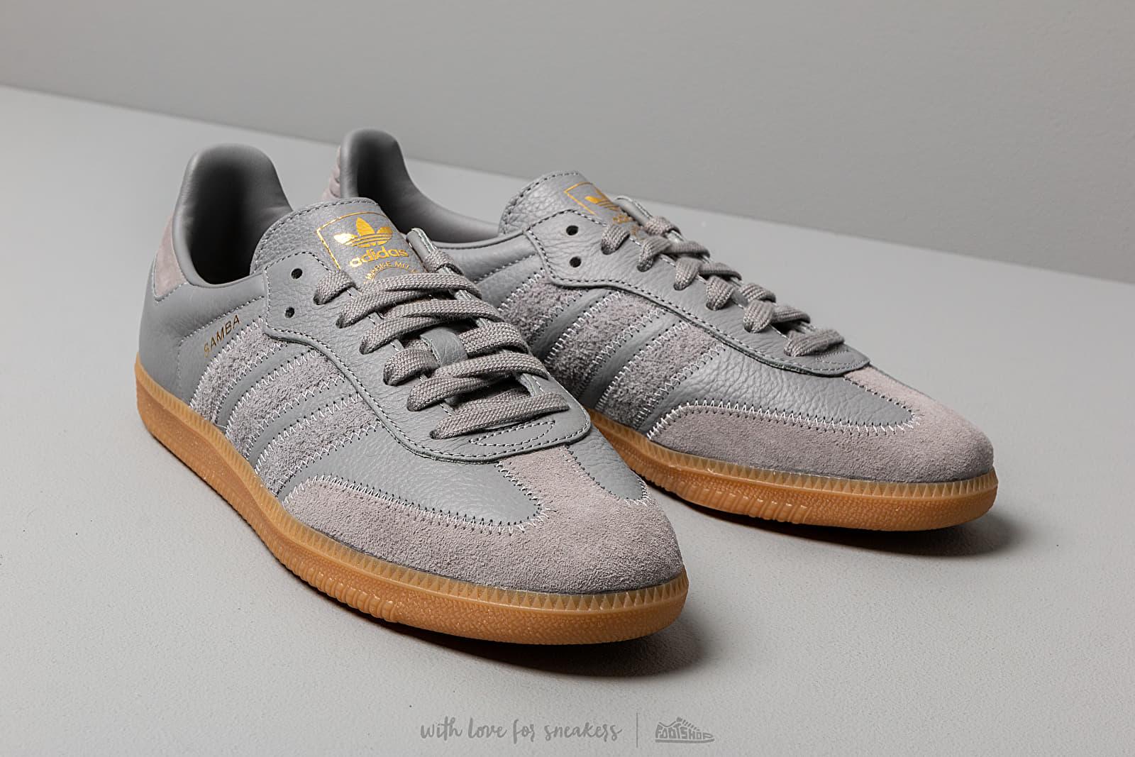 Men's shoes adidas Samba OG Ft Grey