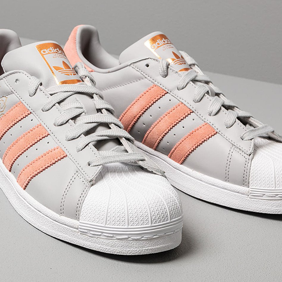 adidas Superstar W Grey Two/ Trace Pink/ Ftw White EUR 40