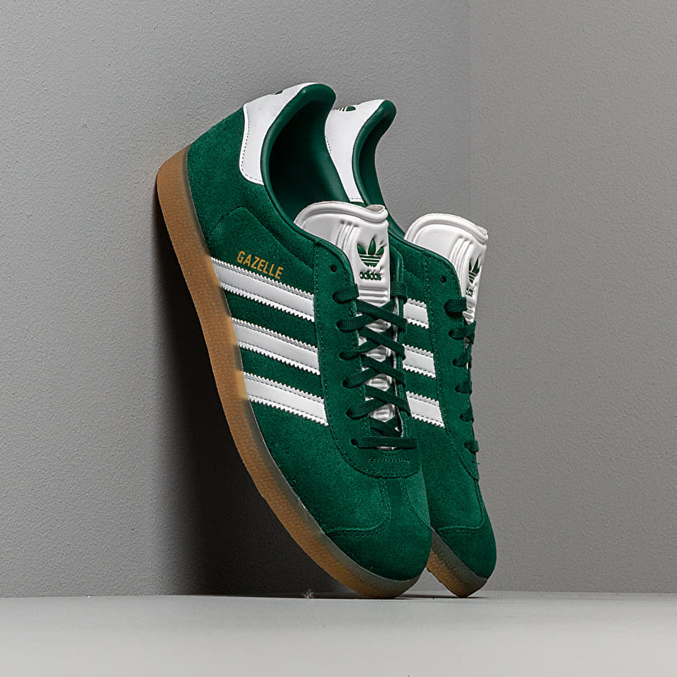 adidas Gazelle Core Green/ Ftw White/ Gum3 EUR 44