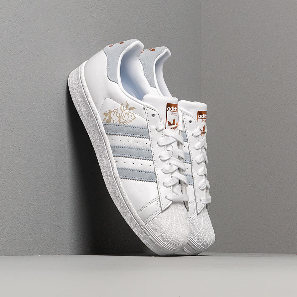 adidas Superstar W Ftw White/ Periwinkle/ Copper Metalic EUR 42
