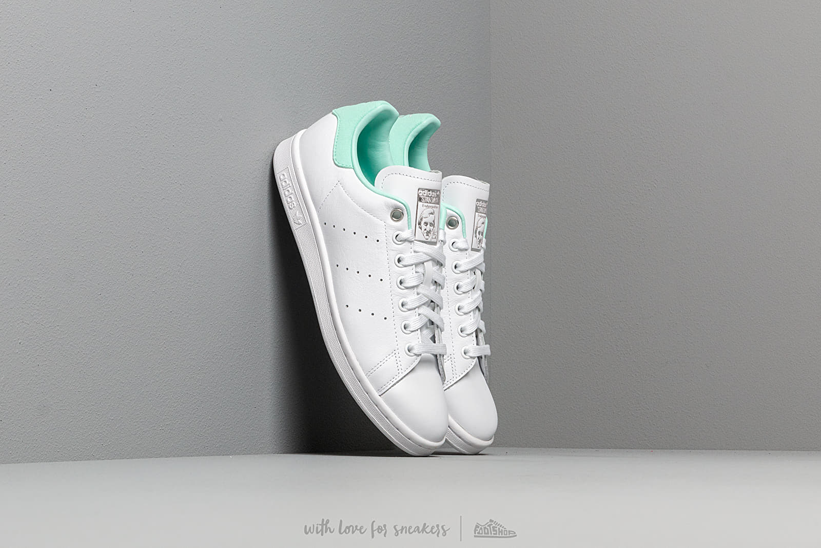 adidas Stan Smith W Ftw White/ Silver Metalic/ Clear Mint at a great price 92 € buy at Footshop