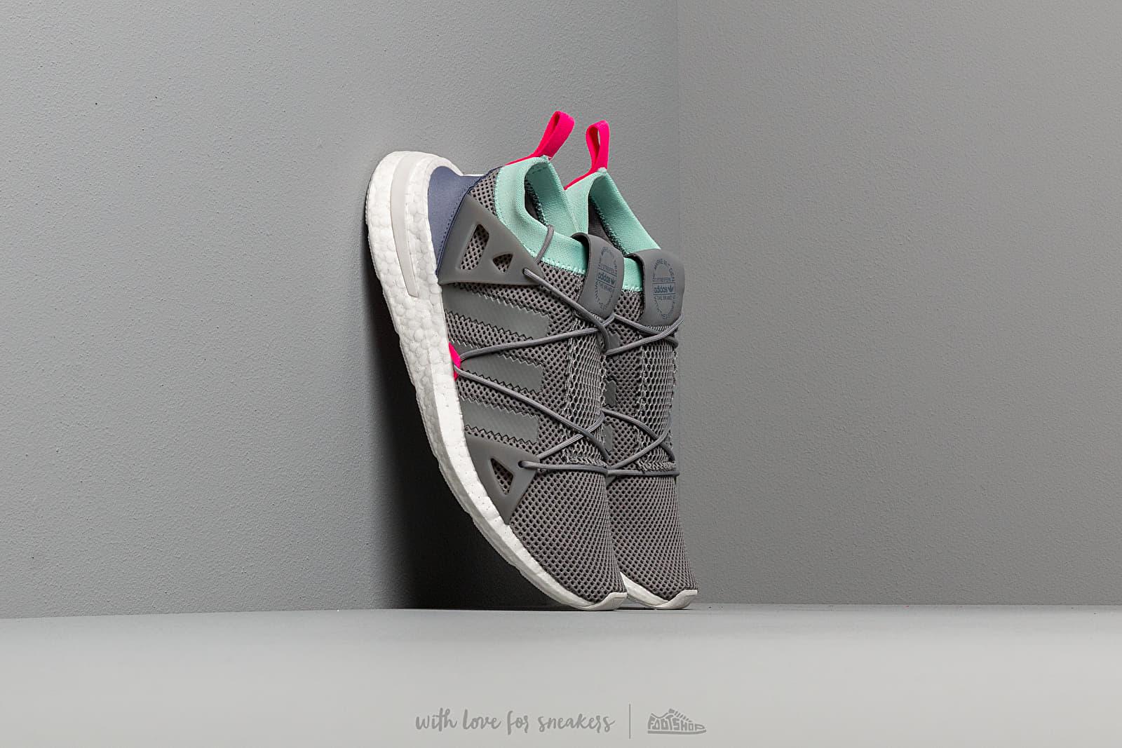 Women's shoes adidas Arkyn W Grey Three/ Clear Mint/ Shock Pink
