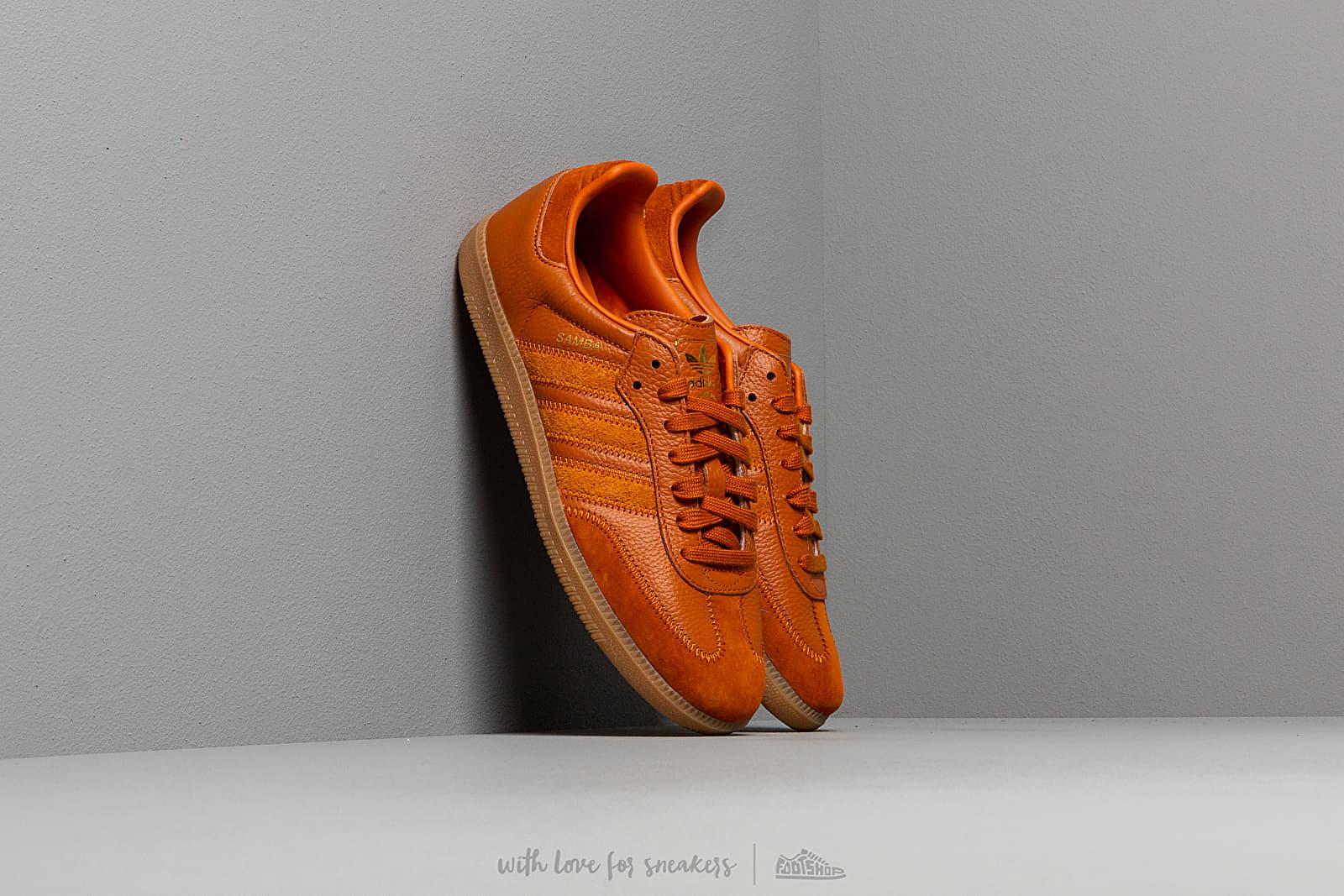 adidas Samba OG Ft Clear Ochre/ Clear Ochre/ Gold Metalic za skvělou cenu 2 490 Kč koupíte na Footshop.cz