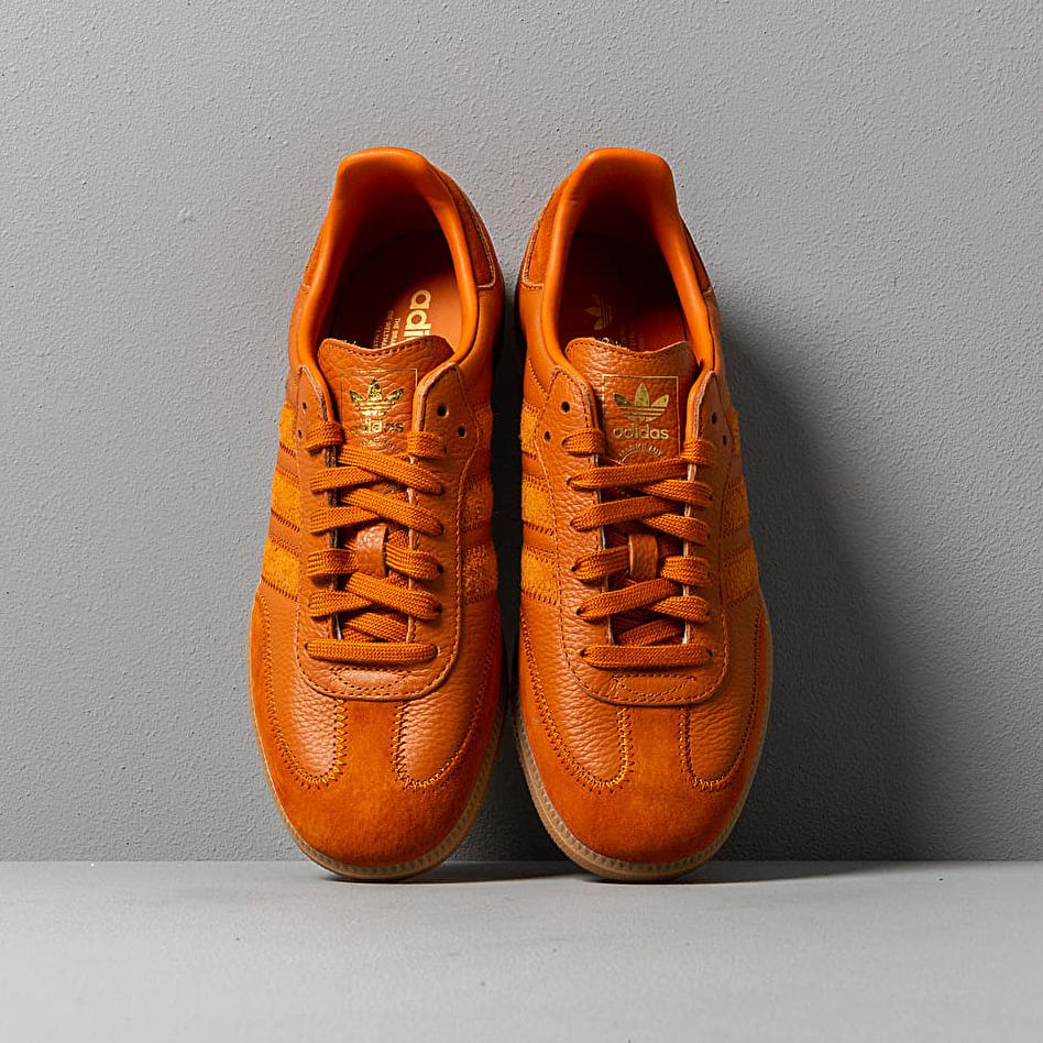 adidas Samba OG Ft Clear Ochre/ Clear Ochre/ Gold Metalic, Orange