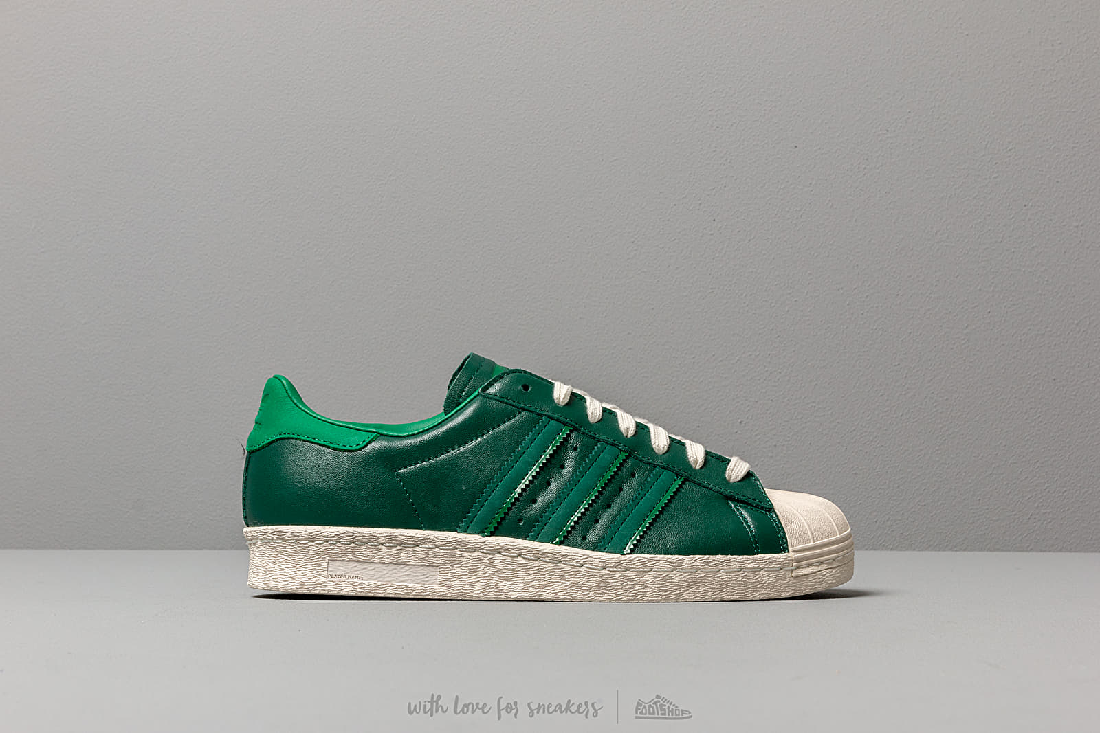 pretty nice c06e1 b3608 adidas Superstar 80S Core Green/ Bright Green/ Off White ...