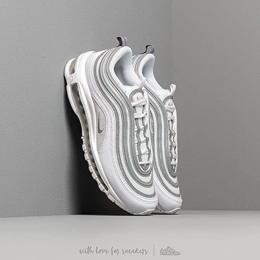 Men S Shoes Nike Air Max 97 White Reflect Silver Wolf Grey Footshop