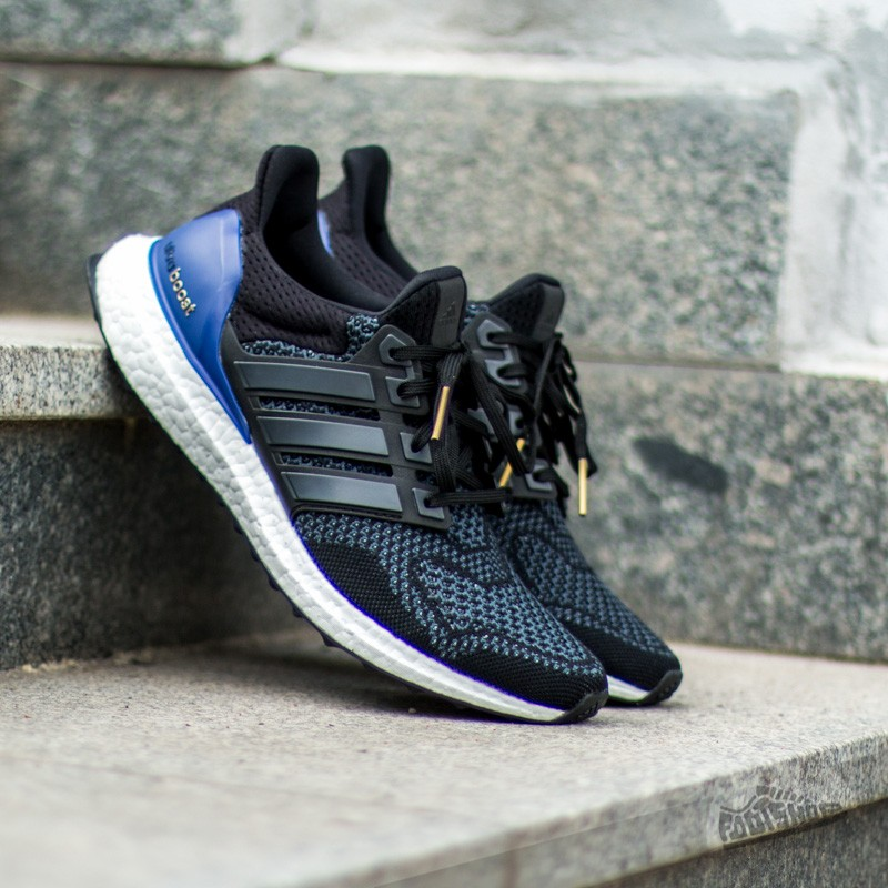 1475e0fabfa adidas Ultra Boost Black  Blue  White