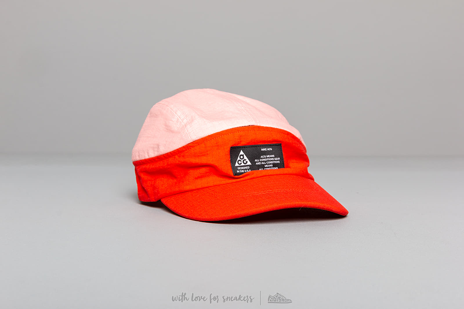 f3f14d54 Nike NRG ACG Tailwind Visor Cap Habanero Red/ Bleached Coral at a great  price $43