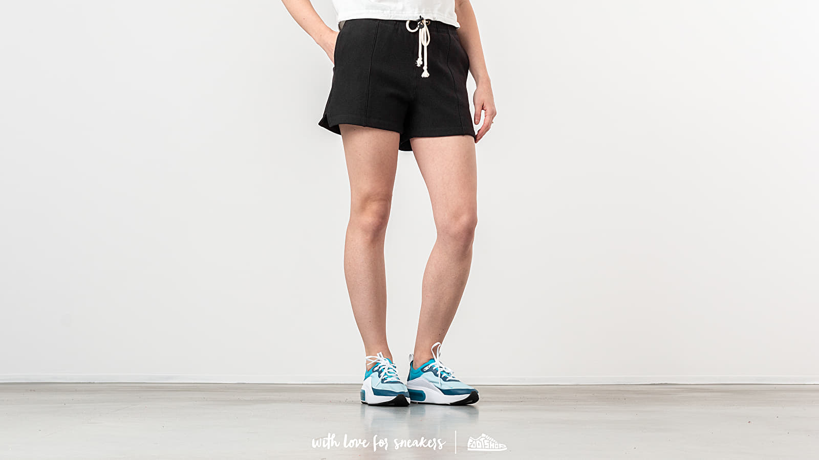 Kratke hlače Champion Shorts Black