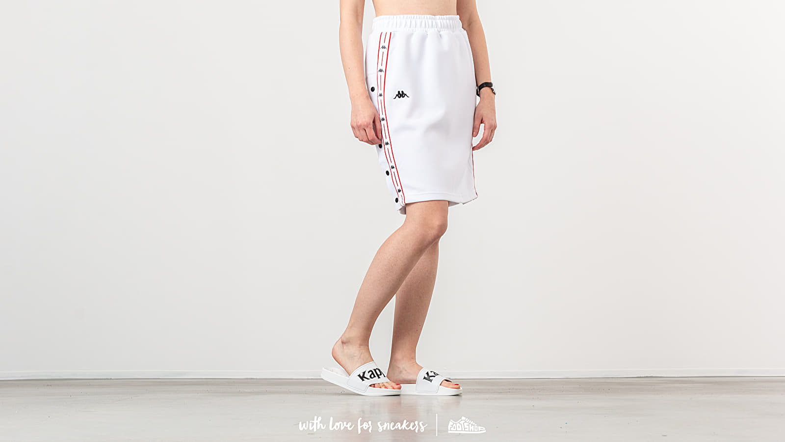 Φούστες Kappa Authentic JPN Baloma Skirt White