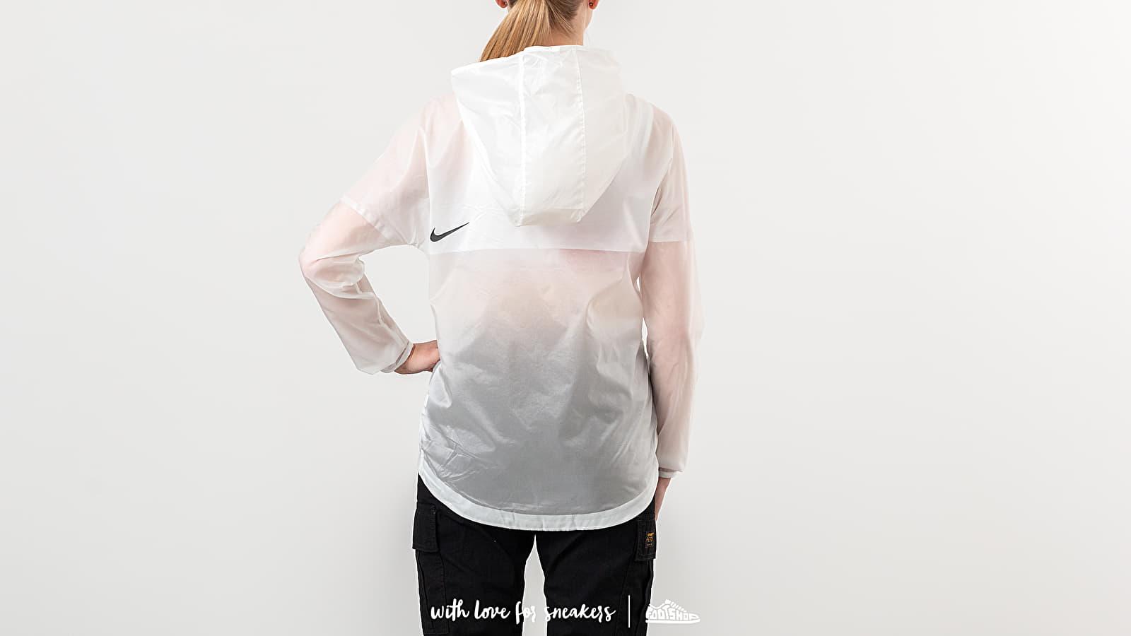 25059f8b15 Nike Tech Pack Hooded Running Jacket Summit White/ Black | Footshop