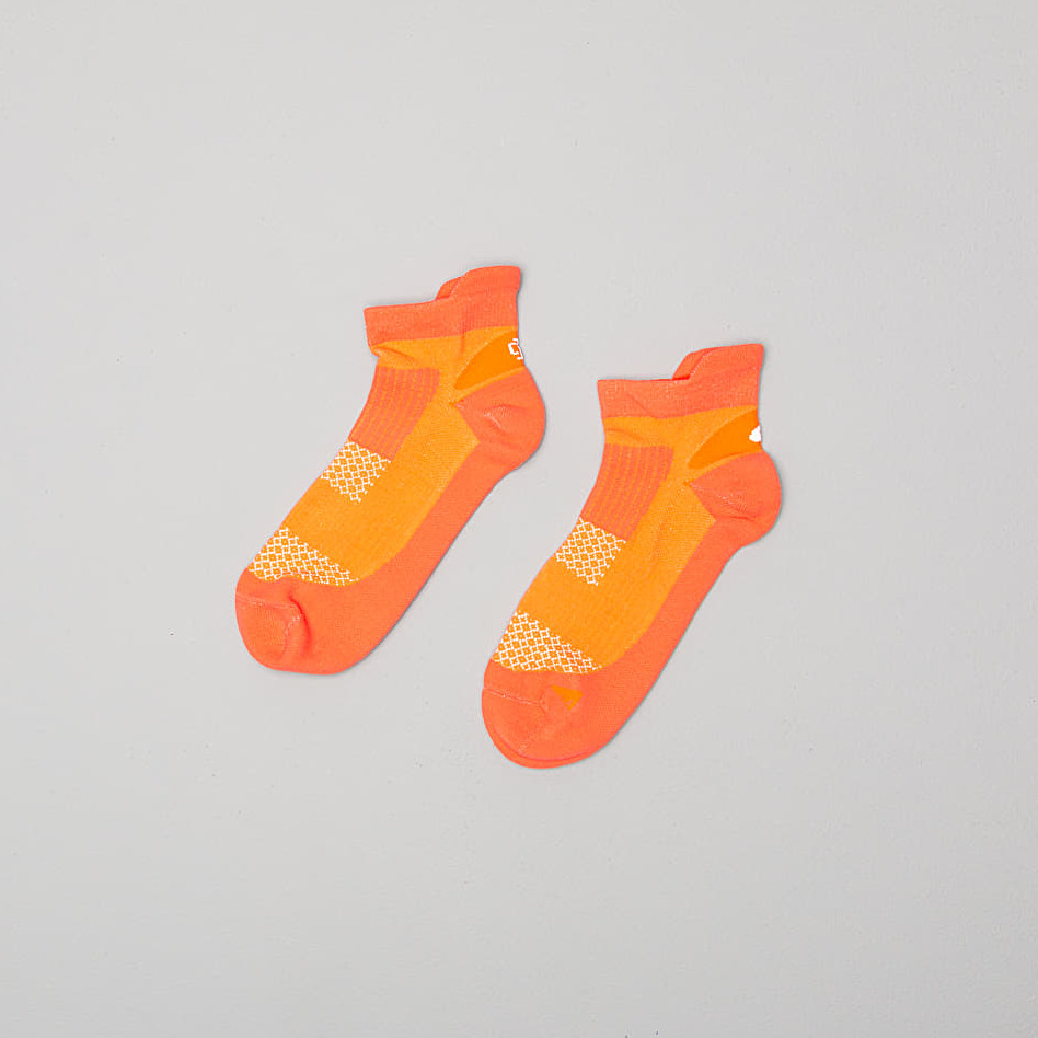 Asics Kayano Low Socks Nova Orange, Yellow
