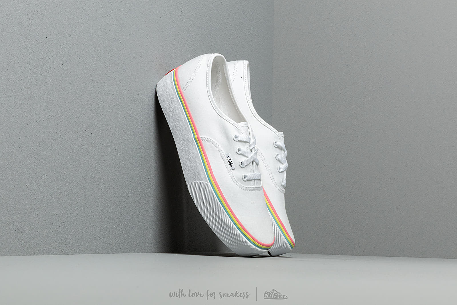 6b9bfd01750c Vans Authentic Platform 2.0 (Rainbow Foxing) True White at a great price  483 kn