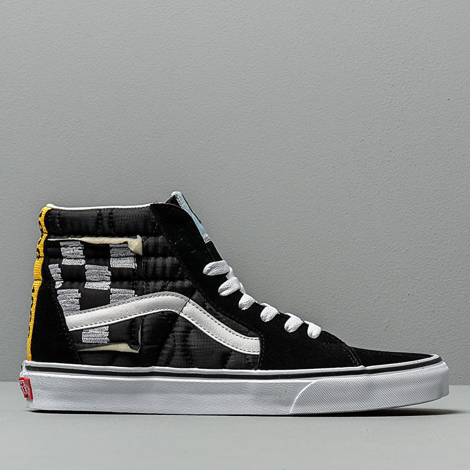 Vans SK8-Hi (Mixed Quilting) Black/ Tr