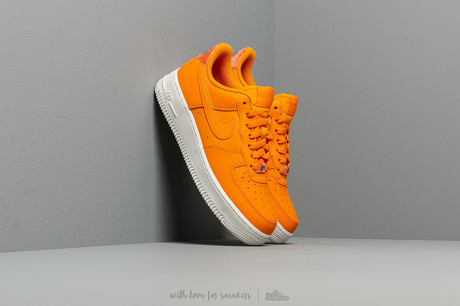 nike air force 1 07 essential orange