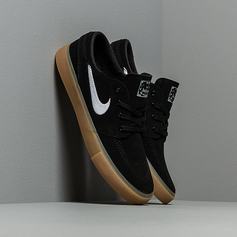 Nike Sb Zoom Janoski Rm Black/ White-Black-Gum Light Brown EUR 44.5