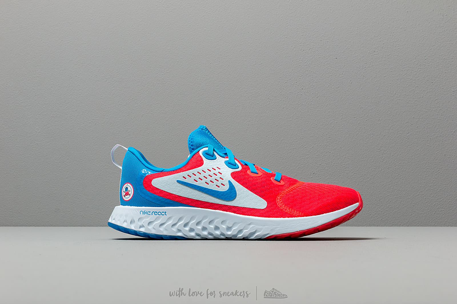 Nike Legend React Heat Chk GS Photo Blue Photo Blue Red