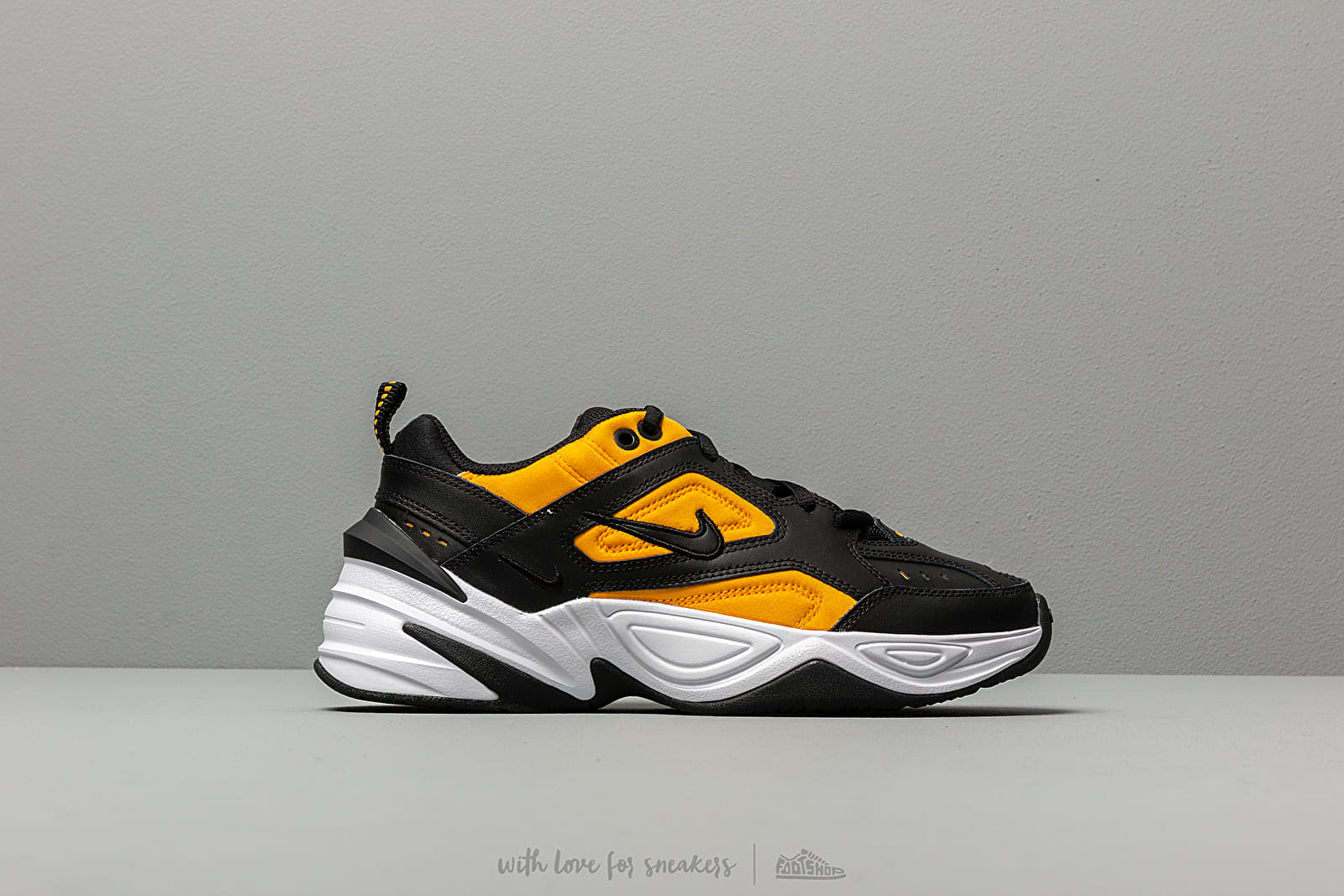 buy popular 9cc56 626ca Nike W M2K Tekno Black  Black-University Gold-White at a great price