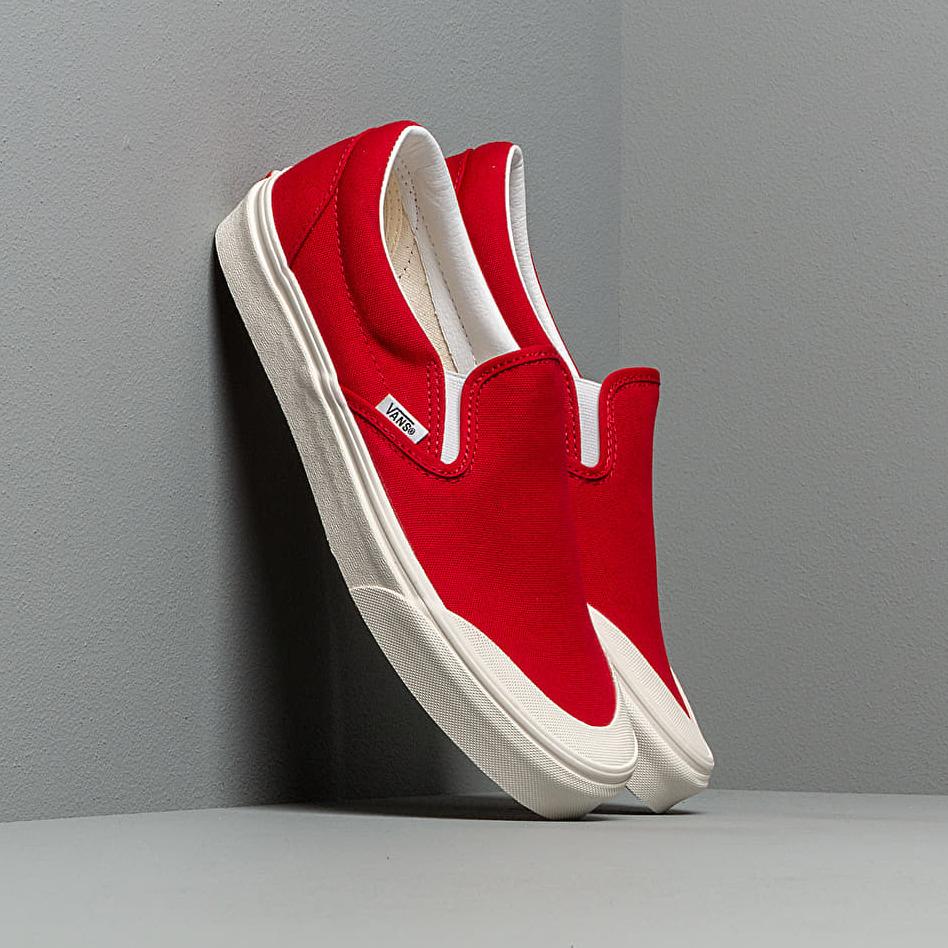 Vans Classic Slip-On 138 Tango Red