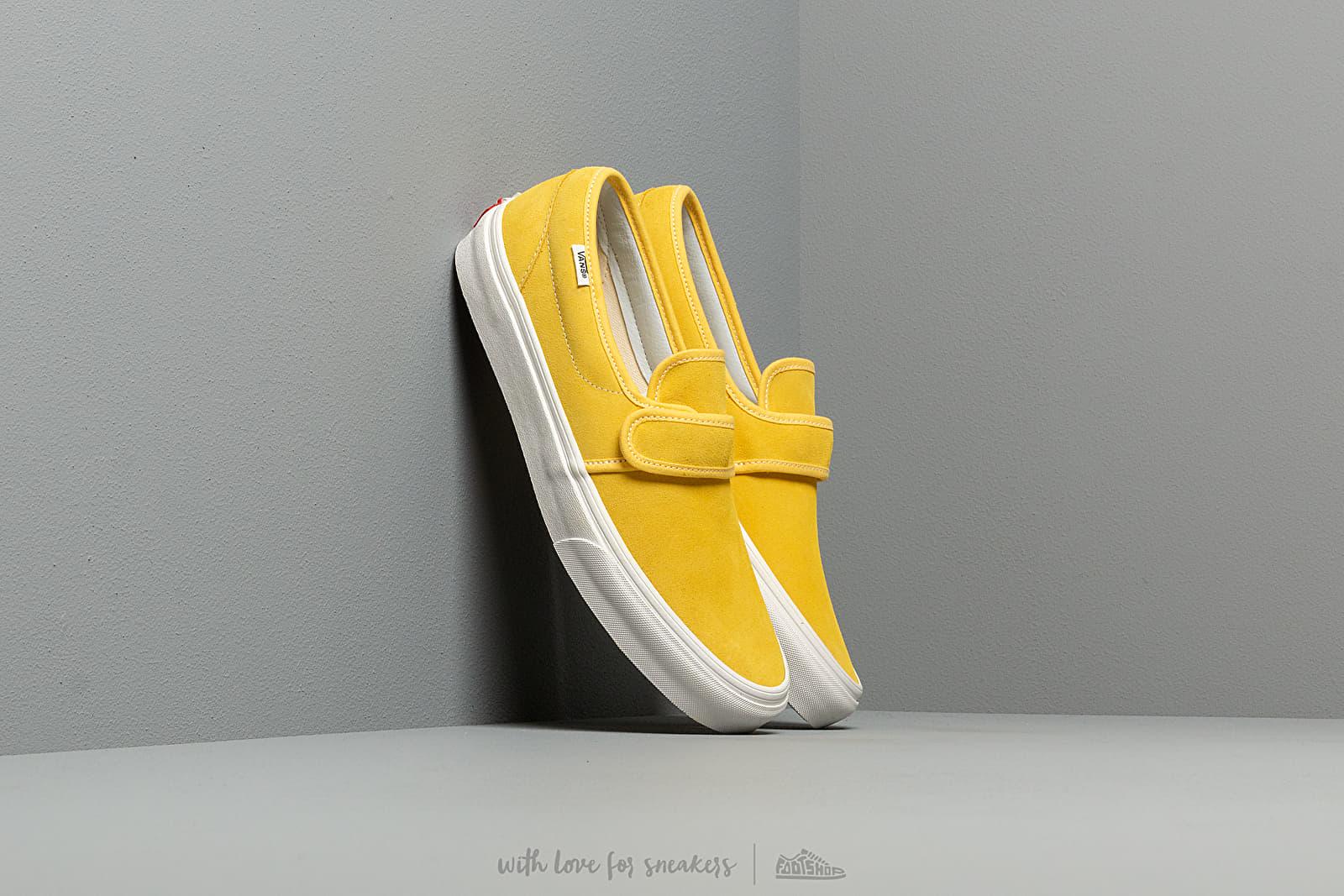Încălțăminte pentru el Vans Slip-On 47 V (Suede) Aspen Gold/ Blacknc