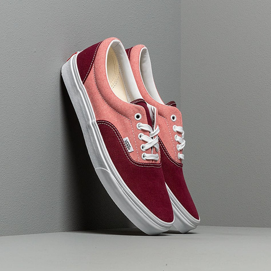 Vans Era (Chambray) Canvas Port Ro, Red