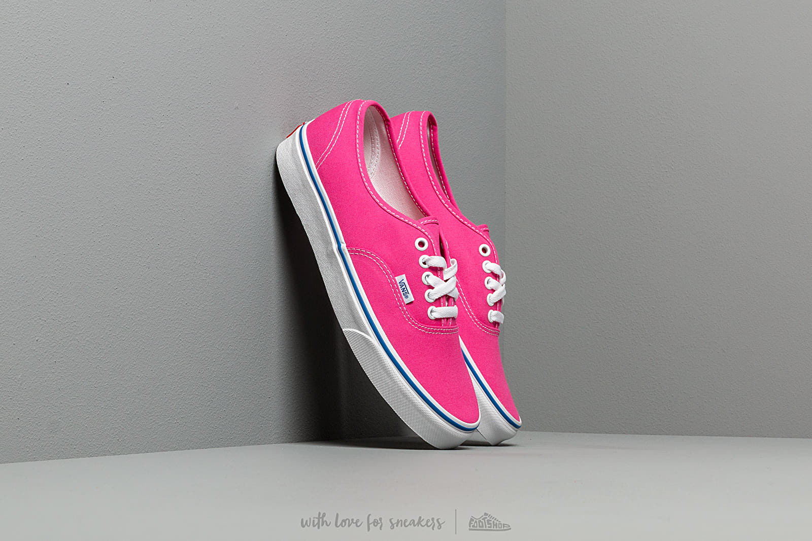 Férfi cipők Vans Authentic (Canvas) Carmine Rose/ True White