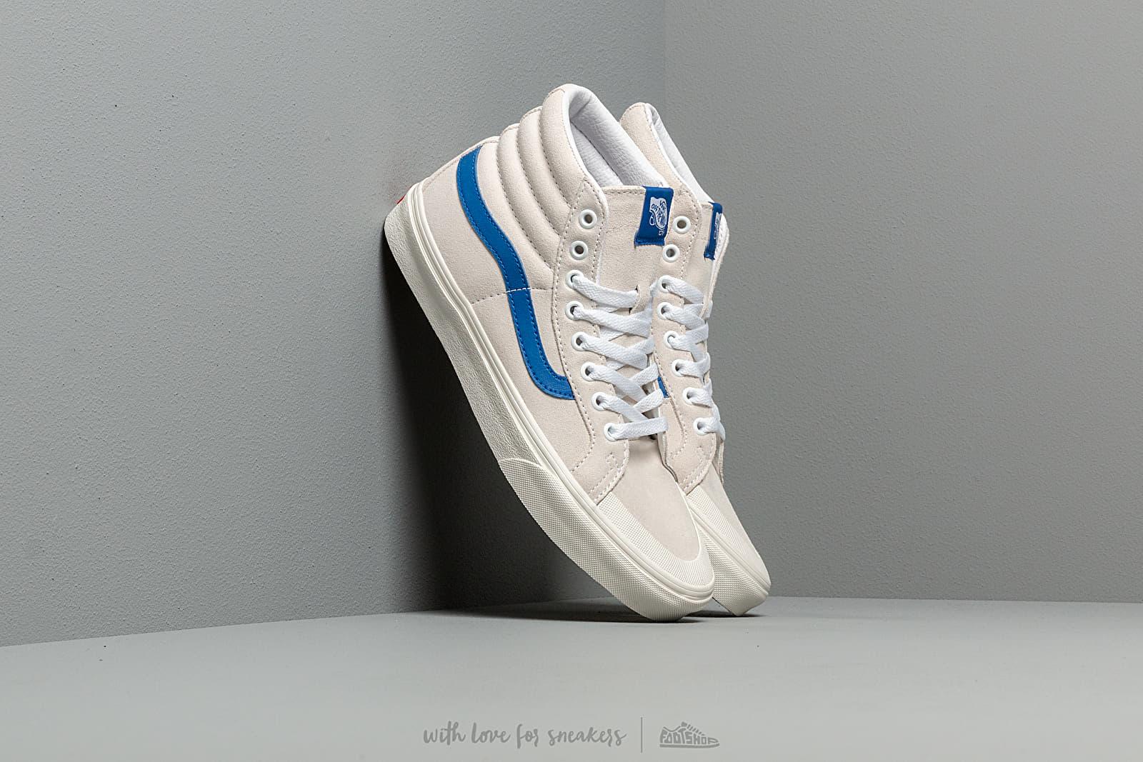 Vans SK8-Hi Reissue 138 True White/ Lapis Blue nagyszerű árakon 25 065 Ft vásárolj a Footshopban