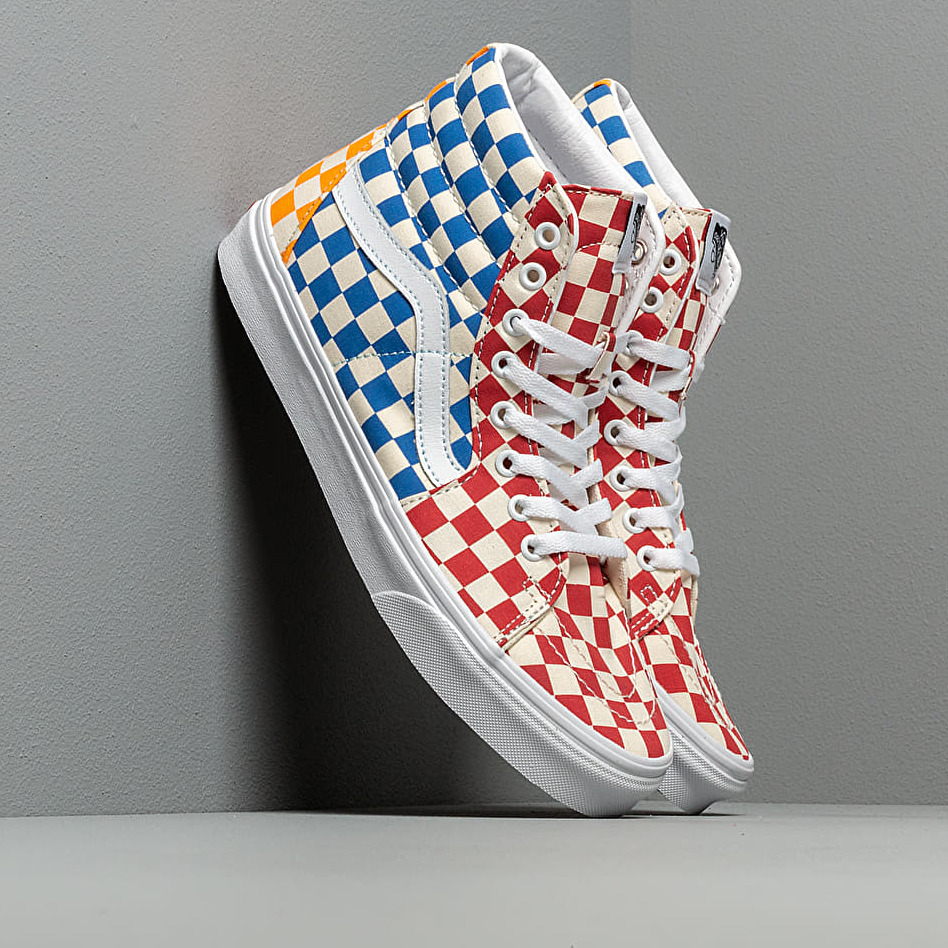 Vans SK8-Hi (Checkerboard) Multi/ True White EUR 38.5