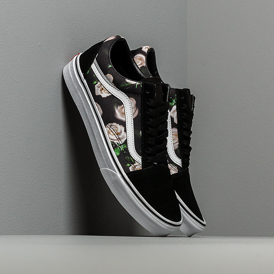 Vans Old Skool (Romantic Floral) Black/ True White EUR 35