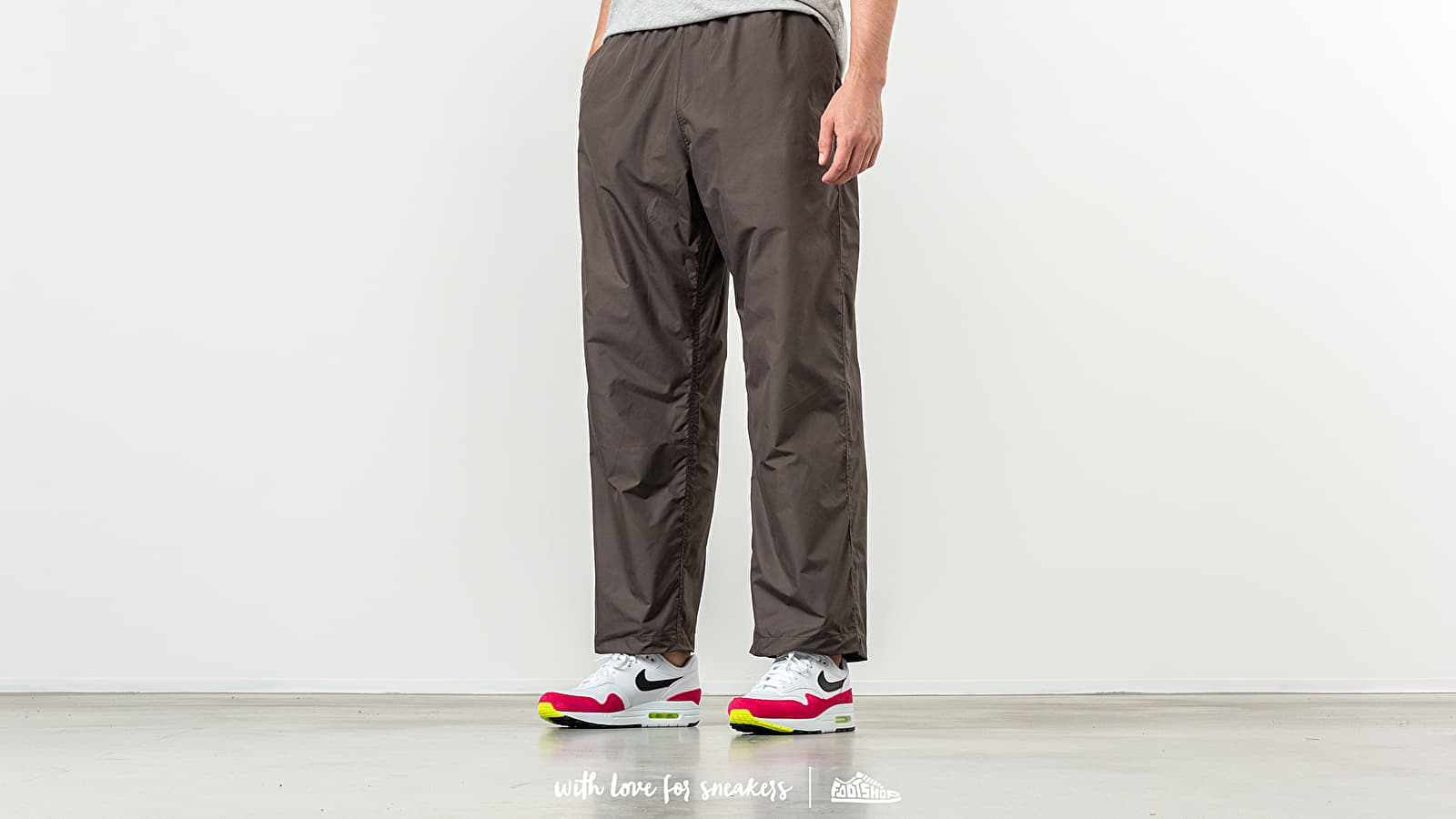 Our Legacy Reduced Trousers Forest Nylon