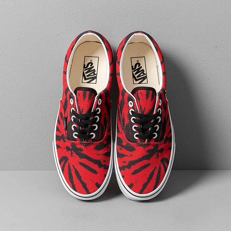 Vans Era (Tie Dye) Tango Red/ True