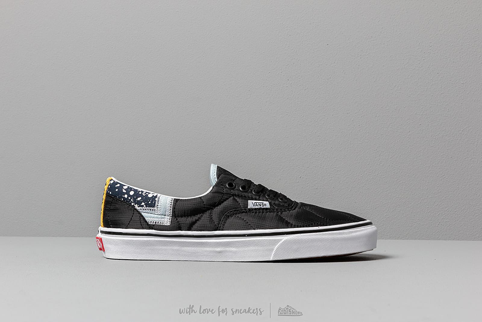 57de9e57a94 Vans Era (Mixed Quilting) Black/ True White | Footshop