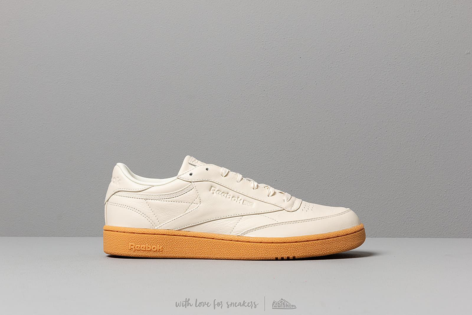 b75afac125 Reebok Club C 85 MU Classic White/ Gum | Footshop