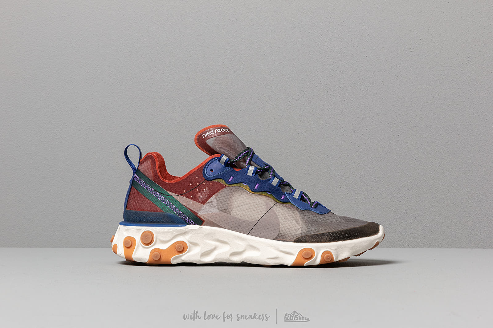 046fcb48cf24 Nike React Element 87 Dusty Peach  Atmosphere Grey at a great price 147 €  buy