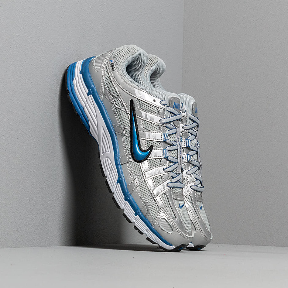 Nike W P-6000 Metallic Silver/ Team Royal-White-Black EUR 38.5