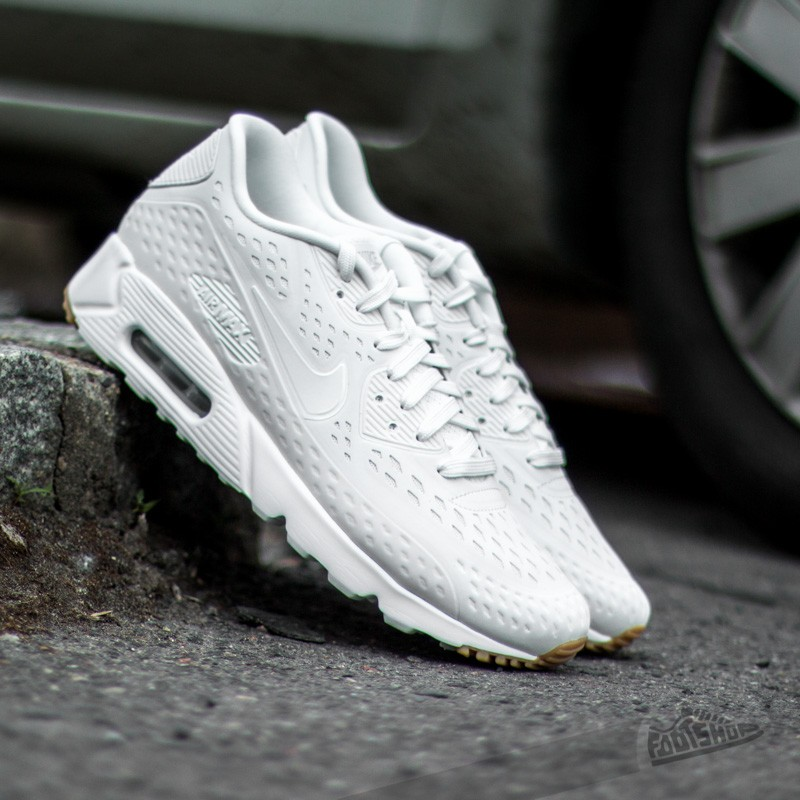 outlet store 1fa98 54d0b Nike Air Max 90 Ultra BR Summit White Summit White-Pure Platinum-Gum