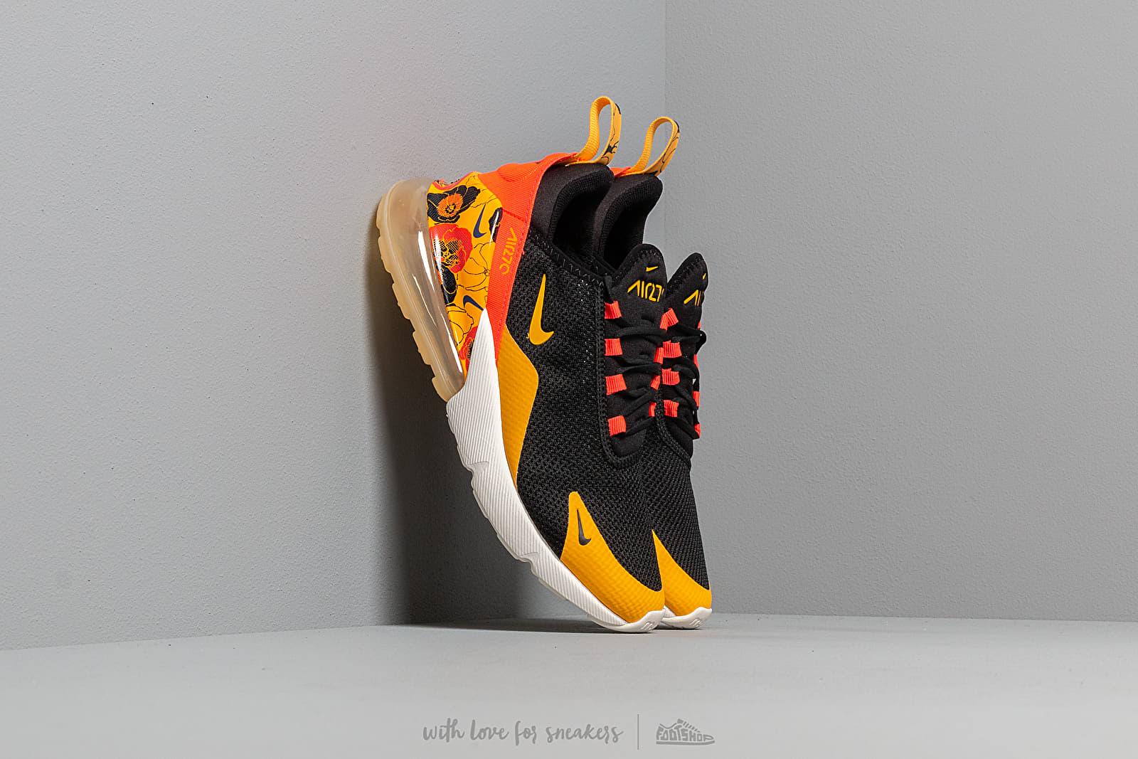 Nike W Air Max 270 Se Black University Gold Bright Crimson