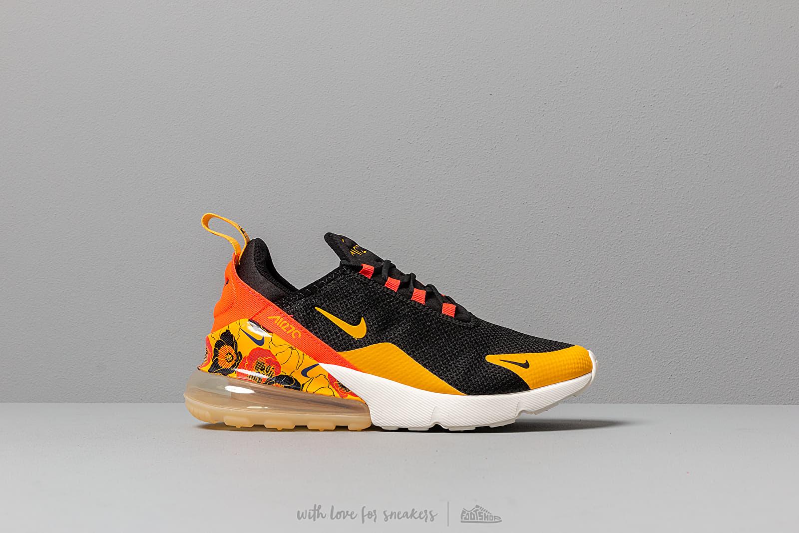 low priced 70385 cebab Nike W Air Max 270 Se Black/ University Gold-Bright Crimson at a great
