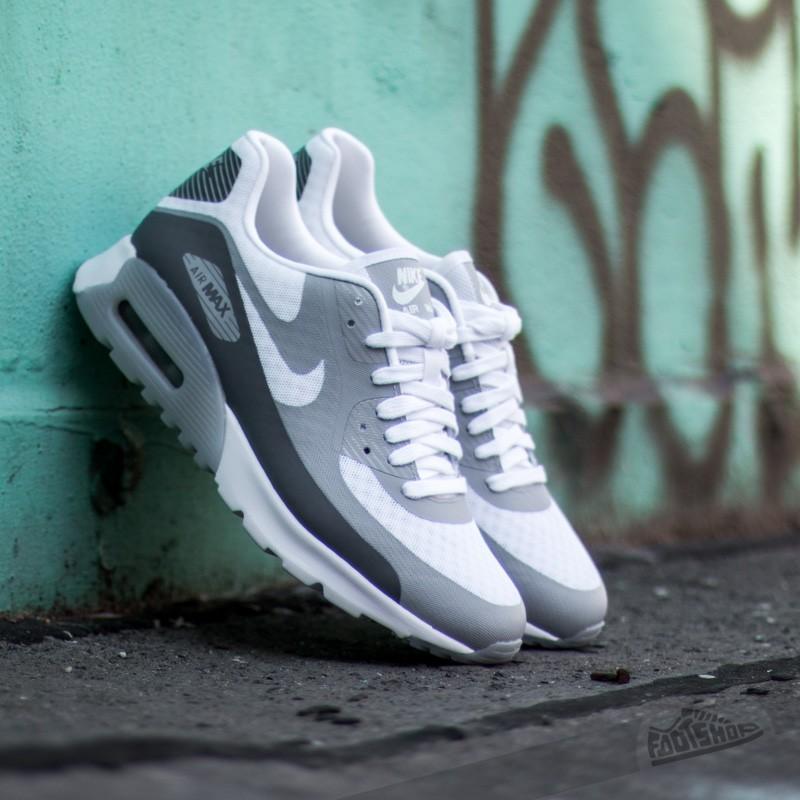 online retailer 25b5d e77e9 W Nike Air Max 90 Ultra BR White Cool Grey-Wolf Grey
