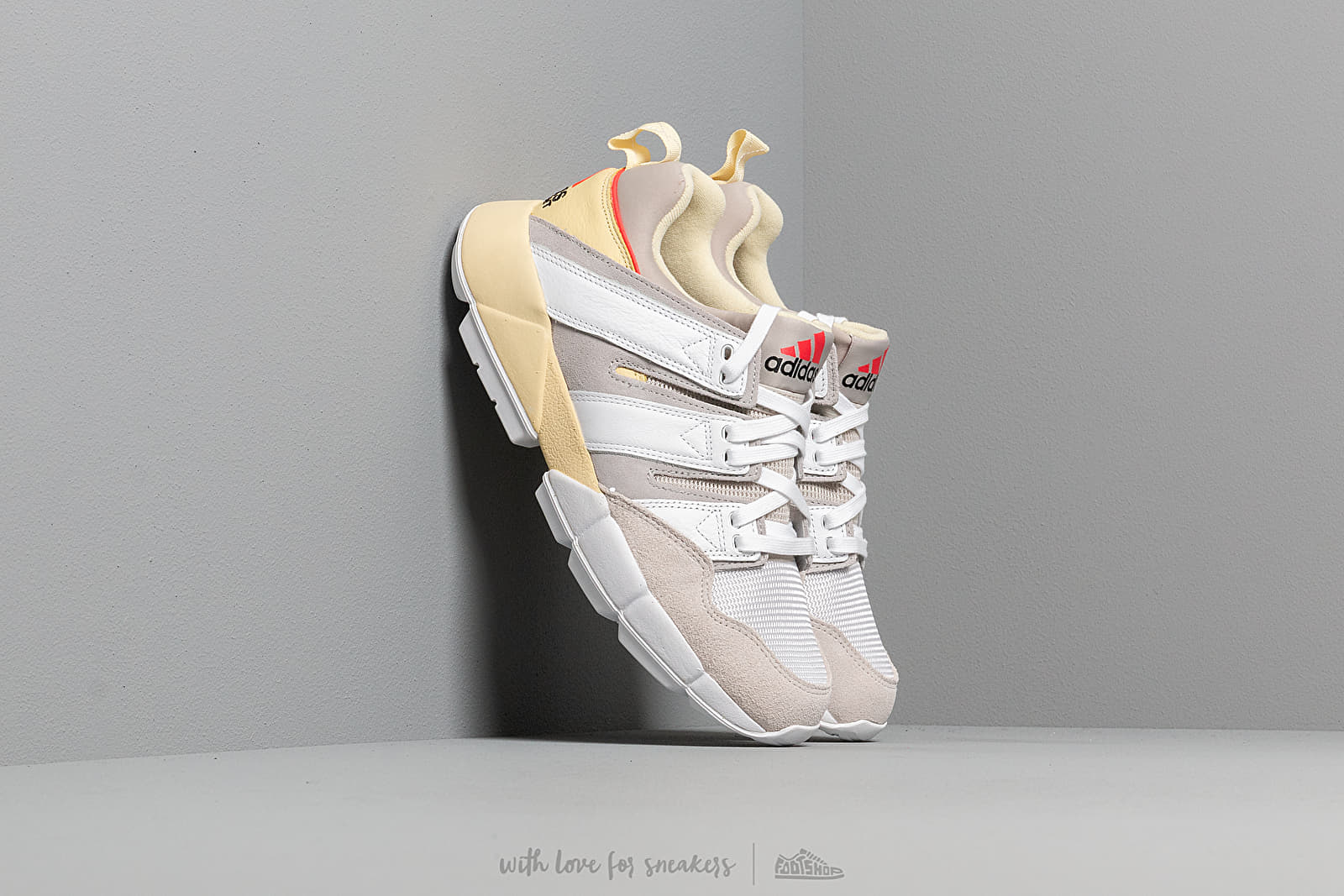 sports shoes 8120f db64d adidas EQT Cushion 2 Easy Yellow  Ftw White  Grey Two at a great price