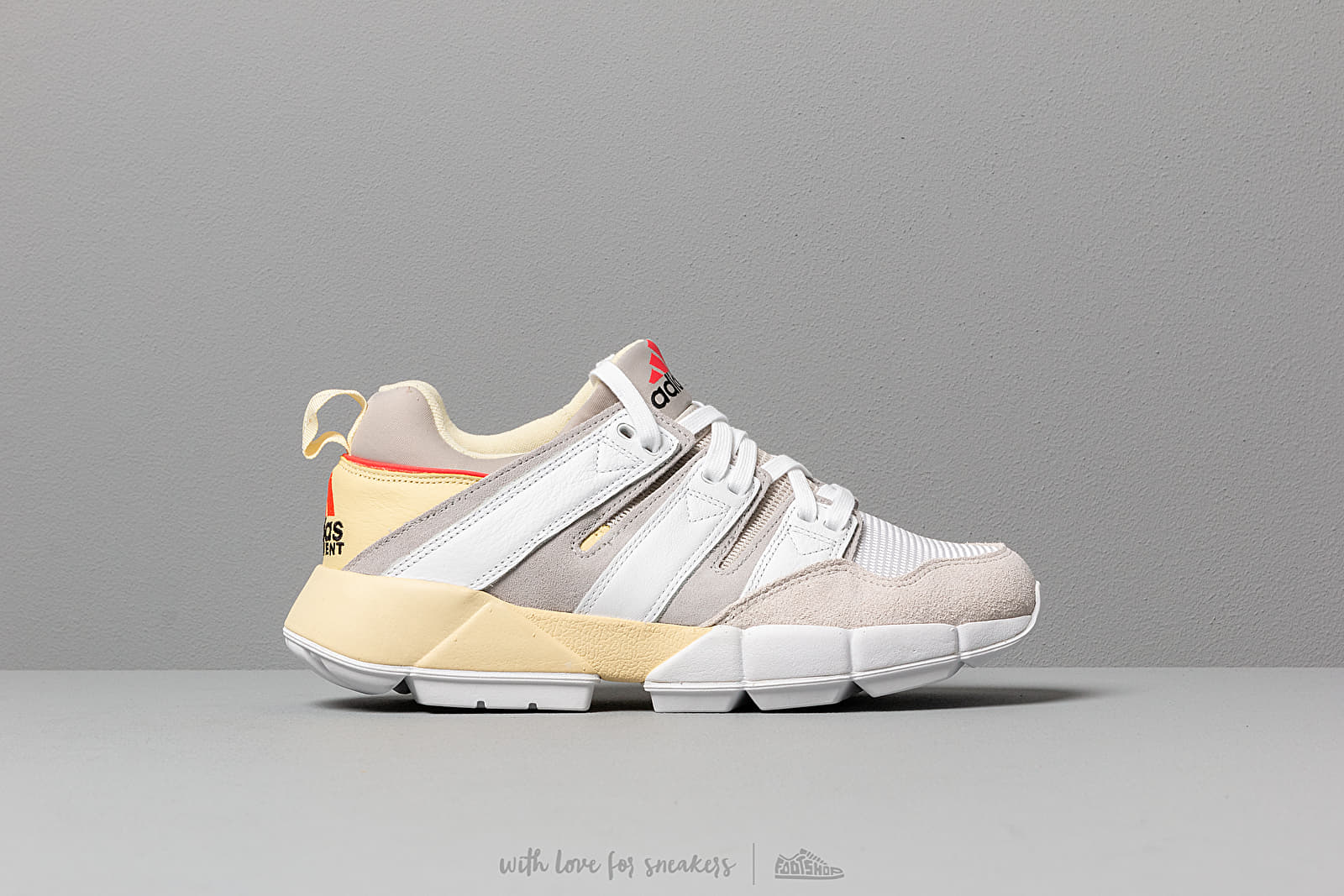 sports shoes 569a4 2648c adidas EQT Cushion 2 Easy Yellow  Ftw White  Grey Two at a great price