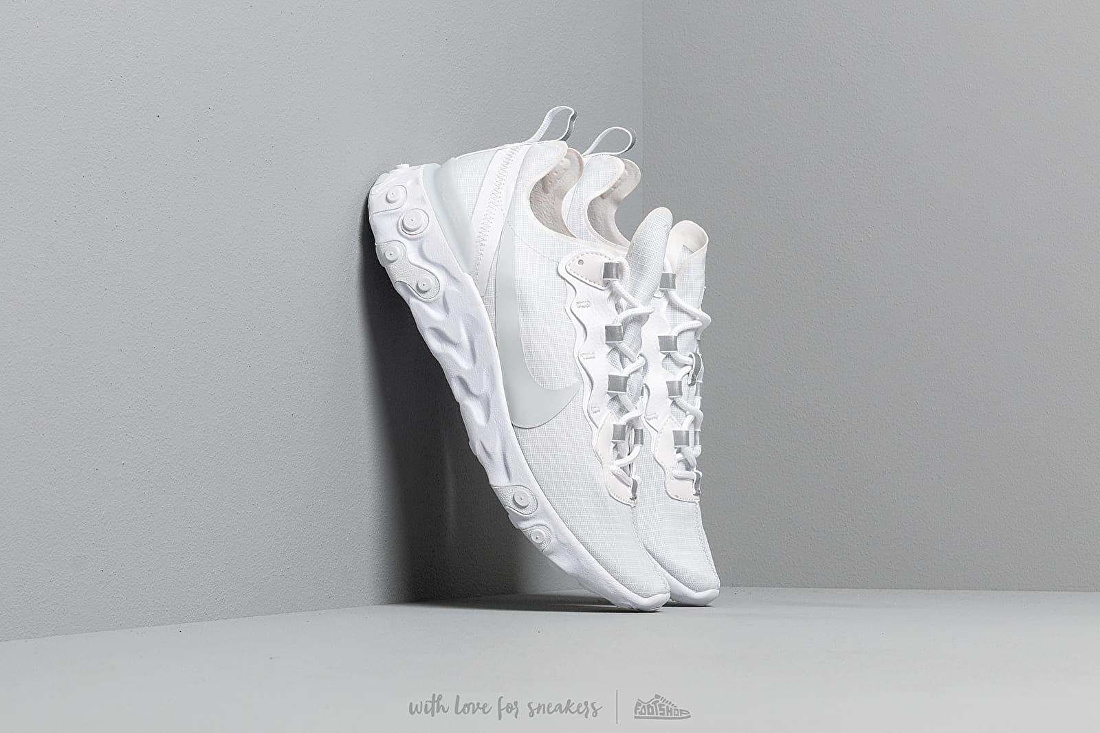 Nike React Element 55 Se Su19 White/ Pure Platinum za skvelú cenu 121 € kúpite na Footshop.sk