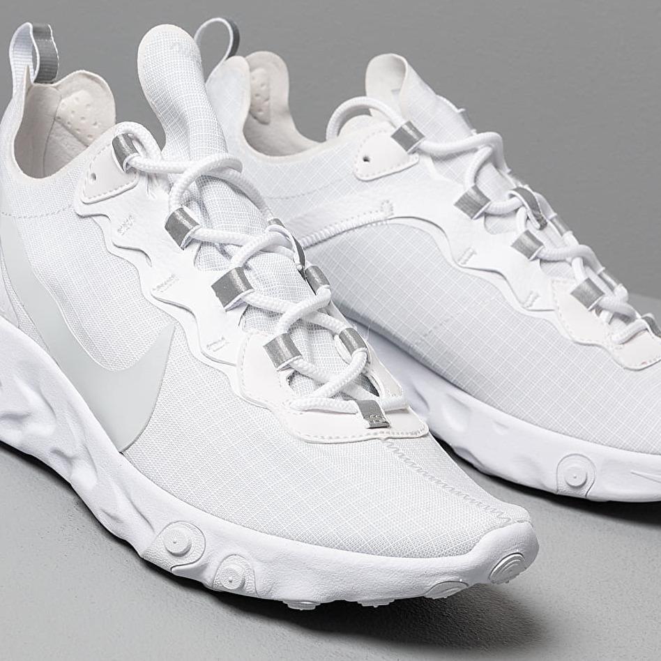 promo codes big discount great quality Nike React Element 55 Se Su19 White/ Pure Platinum