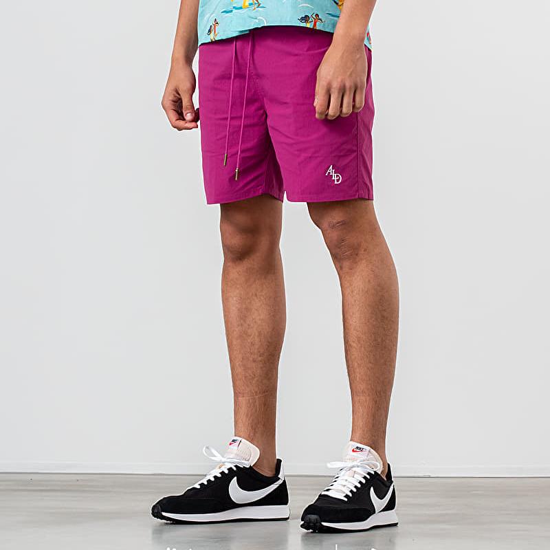 Aimé Leon Dore Monogram Nylon Shorts Boysenberry, Pink